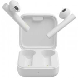 Auriculares bluetooth xiaomi mi true wireless earphones 2 basic white - bt5.0 tws - drivers 14.2mm - estuche de carga - usb