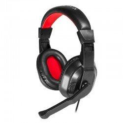 Auricular diadema con micrófono mars gaming mrh0 -  cancelación ruido  - premium graves - ajustable y ergonómico - compatible