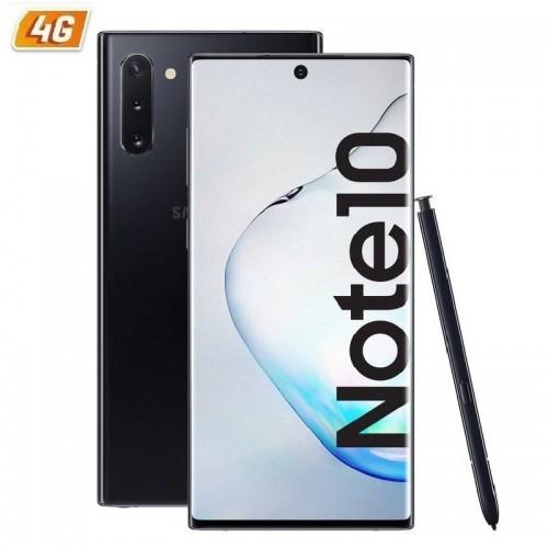 Smartphone móvil samsung galaxy note10 aura black - 6.3'/16cm - cam (12+16+12)/10mpx - oc (2.7+2.4+1.9ghz) - 256gb - 8gb ram -