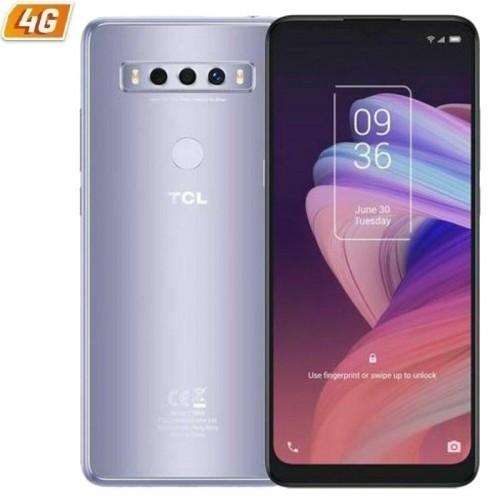 Smartphone móvil tcl 10 se icy silver - 6.52'/16.5cm hd+ - mediatek helio p22 - 4gb ram - 128gb - cam (48+5+2mp)/8mp - android