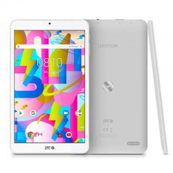 Tablet spc lightyear 8 blanca - qc a35 1.3ghz - 3gb ddr3 - 32gb - 8'/20.32cm 1280*800 ips hd - cam 0.3/2mpx - micro sd - bat