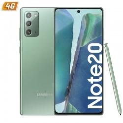 Smartphone móvil samsung galaxy note 20 mystic green - 6.7'/17cm - cam (12+12+64)/10mp - oc - 256gb - 8gb ram - android - 4g -