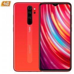 Smartphone móvil xiaomi redmi note 8 pro coral orange - 6.53'/16.58cm - mediatek g90t - 6gb ram - 128gb - cam (64+8+2+2)/20 mp