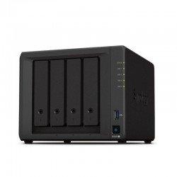 Nas synology diskstation ds920+ - cpu intel j4125 - 4gb ddr4 - 4 bahías (3.5/2.5/m2) max. 108tb - 2*rj45 - 2*usb 3.0 - esata