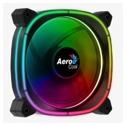Ventilador aerocool astro12 - 12cm - 1000 rpm - 17.5dba - cojinete hidráulico - iluminación led omni rgb