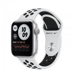 Apple watch s6 40mm gps nike caja aluminio con correa platino puro y negro nike sport band - m00t3ty