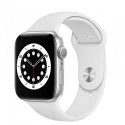 Apple watch s6 44mm gps caja aluminio con correa blanca sport band - m00d3ty/a