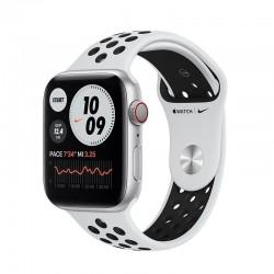 Apple watch s6 44mm gps cellular nike caja aluminio con correa platino puro y negro nike sport band