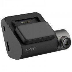 Cámara xiaomi dashcam pro 70mai black - pantalla 5.08cm - resol. 2.7k - wifi - ángulo visión 140º - microsd - usb - bat. 500mah