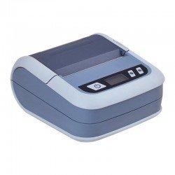Impresora térmica portátil ilp-80 gris - bluetooth - 72mm - 70mm/s - usb - batería 2500mah - windows/android/ios - funda